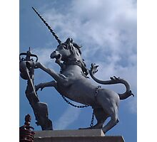 Mythical Unicorn Photographic Print