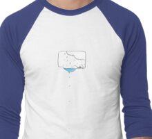 What a relief/release! Men's Baseball ¾ T-Shirt
