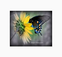 Beautiful butterfly and sunflower Unisex T-Shirt