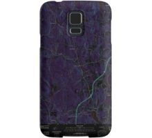 Massachusetts  USGS Historical Topo Map MA Sterling 20120606 TM Inverted Samsung Galaxy Case/Skin