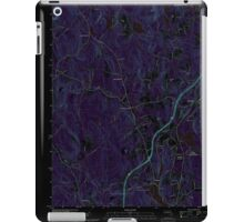 Massachusetts  USGS Historical Topo Map MA Sterling 20120606 TM Inverted iPad Case/Skin