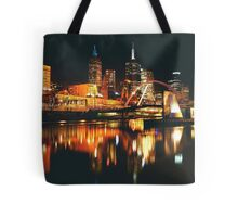 MELBOURNE CITY BY NIGHT Tote Bag