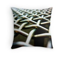 chain-link Throw Pillow