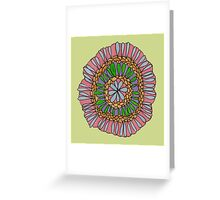 Serenity flower Greeting Card