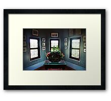 Cabinet at Chenonceau Framed Print