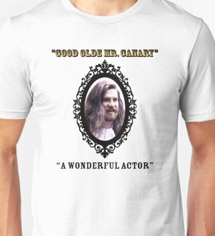 Hairy Canary Unisex T-Shirt