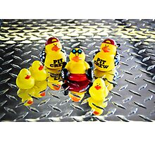 Yellow Ducks Racing Team ~ The Official Team Picture Photographic Print