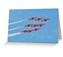 The Red Arrows, Eastbourne Greeting Card