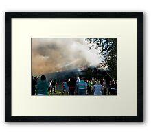 Fire II Framed Print