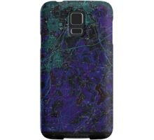 Massachusetts  USGS Historical Topo Map MA Worcester South 350787 1973 24000 Inverted Samsung Galaxy Case/Skin