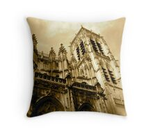 Abbeville Cathedral Throw Pillow