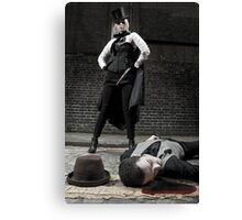 Ripper and Victim Canvas Print