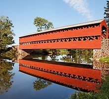 Sachs Covered Bridge II by Tim Devine