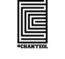 EXO Chanyeol 'Overdose' Logo Photographic Print