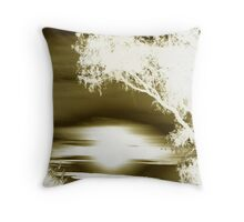 Tranquil Silhouette  Throw Pillow