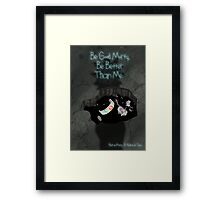 Rick & Morty: Rickle in Time Framed Print