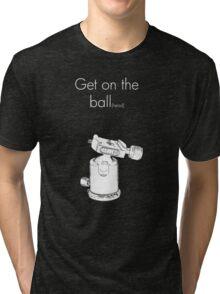 Ball head dark colors Tri-blend T-Shirt