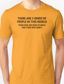 Good Math Funny T-Shirt & Hoodies T-Shirt