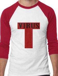 T virus geek funny nerd Men's Baseball ¾ T-Shirt