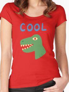 Vincent Adultman's Son's Shirt Women's Fitted Scoop T-Shirt