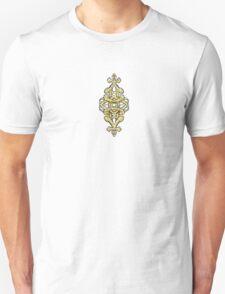 Golden geomentric T-Shirt