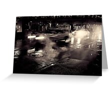 Film Noir Greeting Card