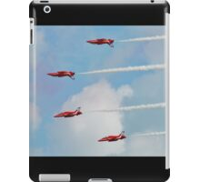 Red Arrows aerobatic team iPad Case/Skin