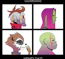Guardianz: Infinity Days by kentcribbs