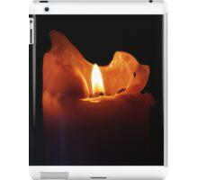 Flickering Candle iPad Case/Skin