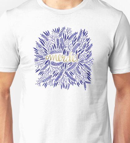 Pardon My French – Navy & Gold Unisex T-Shirt