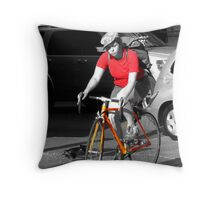 """dreamcycle"" Throw Pillow"