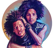 Les twins by Scintillaandme