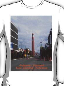 Gisborne Eastland Tairawhiti, New Zealand Aotearoa T-Shirt