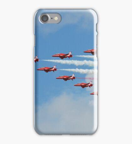 Red Arrows display team iPhone Case/Skin