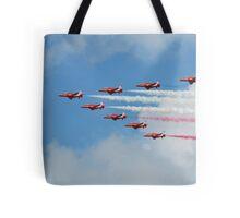Red Arrows display team Tote Bag