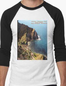 Waima, Tokomaru Bay, Eastcoast, New Zealand Aotearoa Men's Baseball ¾ T-Shirt