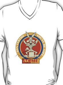 Wile E coyote acme  68% certain you'll be safe 2 geek funny nerd T-Shirt