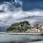 Storm Over Parga by Karen Martin IPA