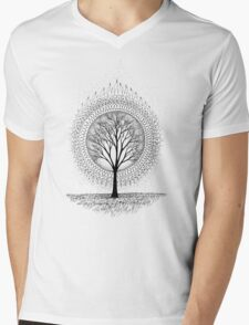 Aura Botanica 2 Mens V-Neck T-Shirt