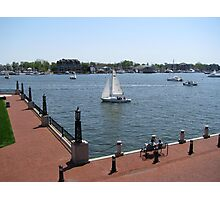 From US Naval Academy, Annapolis, MD Photographic Print