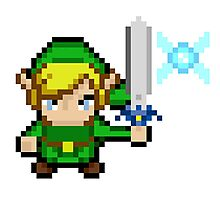 Pixel Link and Navi Photographic Print