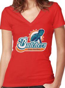 Bay Harbor Butchers Women's Fitted V-Neck T-Shirt