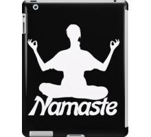 Namaste meditation iPad Case/Skin
