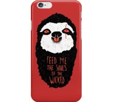 Evil Sloth iPhone Case/Skin