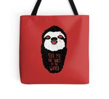 Evil Sloth Tote Bag