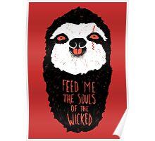 Evil Sloth Poster