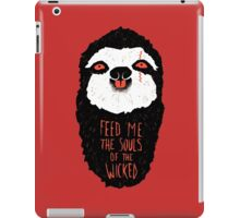 Evil Sloth iPad Case/Skin