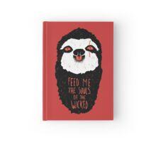 Evil Sloth Hardcover Journal