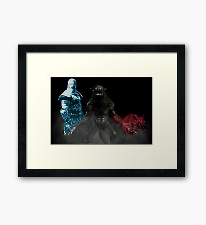 For Kodlak! Framed Print