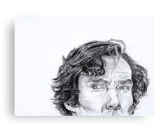 Sherlock is watching you... Canvas Print